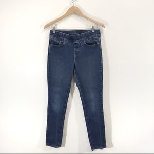 Levis Mid-rise Relaxed Straight Leg Jeans Sz 8